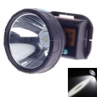 Qiliang 10W LED 200lm 2-Mode White Light Dual-Li-Ion-wasserdichte Scheinwerfer - Schwarz