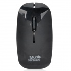 Mini Mouse Style Music Player w/ TF / MP3 - Black  (Max. 32GB)