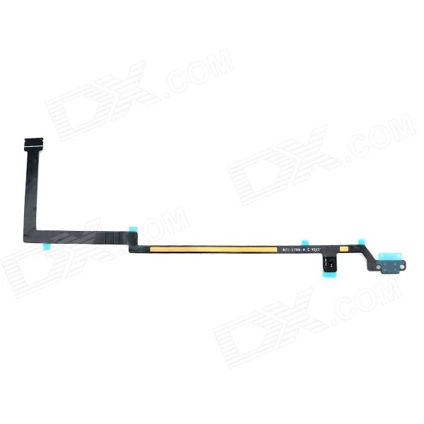 Replacement Home Button Flex Cable for IPAD AIR - Black 5 in 1 replacement accessories home button repair parts set for new ipad