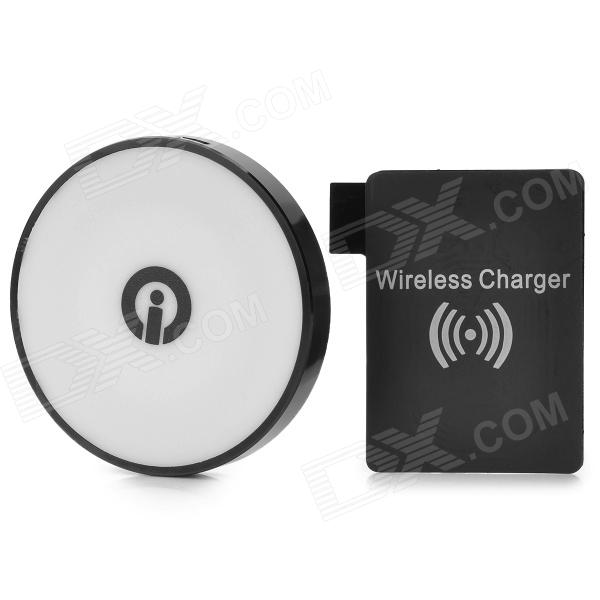 QI-N3 QI Standard Wireless Charger Kit for Samsung Galaxy Note 3 5v 1000ma qi wireless charger for samsung galaxy s3 mini i8190 i8160 black