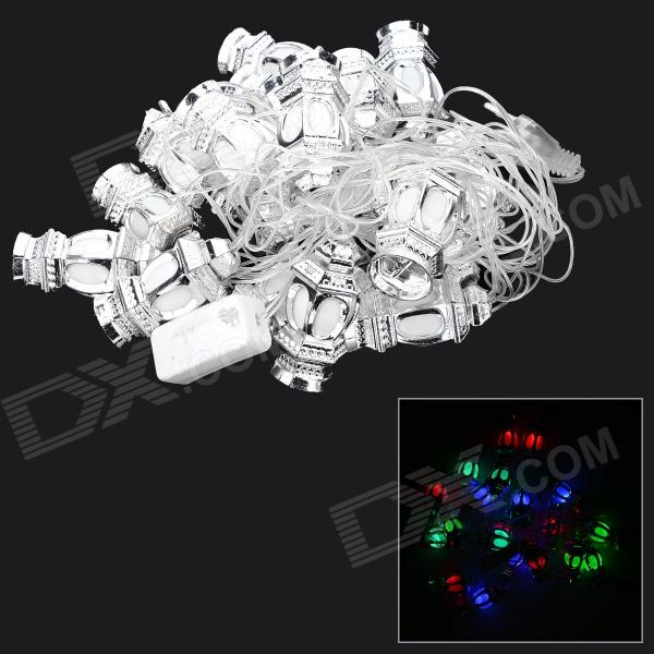20-MT Lantern Style 1.3W 20-LED RGB Light Lamp String (AC 220V / 524cm / EU Plug)