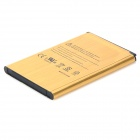 i8910-GD erstatning 3.7V 2450mAh Li-ion batteri for samsung i8910 / B7300H / B7300C - golden