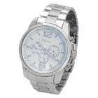 Steel Waterproof Wrist Watch with Date and Weekday (1*SR626SW)