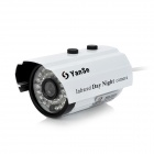 "YanSe YS-877CD 1/4"" CMOS 800TVL Outdoor Waterproof CCTV Camera w/ IR-Cut / 36-LED Night Vision"