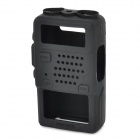 Protective Silicone Walkie Talkie Case for BaoFeng 5R, 5RA, 5RE, 5RB, TYT-F8 - Black
