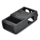 silikon walkie talkie sak for baofeng 5R, 5RA, 5RE, 5RB, TYT-F8 - svart