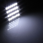 Festoon 36mm 2.4W 200lm 24 x SMD 1210 LED White Light Car Reading / Roof / Dome Lamp - (12V / 2 PCS)