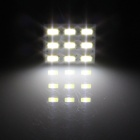 T10 / BA9S / Festoon 1.5W 150lm 9 x SMD 5630 LED White Light Car Reading Light / Panel Light - (12V)
