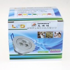 ZHISHUNJIA ZSJ-554A 5W 350lm 3500K 5-LED Warm White Light Ceiling Lamp - Silver (AC 85~265V)