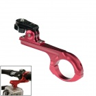 OUMILY Aluminum Bicycle Mount for SONY AS15 / AS30 / GoPro Hero 2 / 3 / 3+ - Red + Black