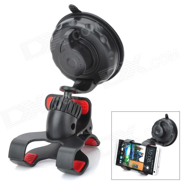 V3 Universal Suction Cup Car Mount Holder Clamp for Cellphone / GPS - Black concept car universal windshield mount holder for iphone samsung cellphone black