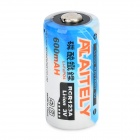 ATAITELY Rechargeable 3V 600mAh RCR123A Battery - White + Blue