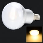 SENCART E14 5W 330lm 3200K 1-COB LED Warm White Light Lamp - Sølv (AC 85 ~ 265V)