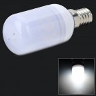SENCART E14 1.8W 110lm 6000K 15-5730 SMD LED White Light Lamp - Grey + White (AC 220~240V)