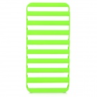 S-Lo Caso Hollow Out Laddel silicona para IPHONE 5 / 5s - Verde