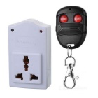 500W Digital Wireless Remote Control Socket - White (220V)