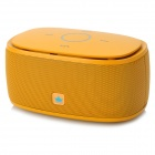 KINGONE K5 Portable Bluetooth v3.0 Bass 2-CH Speaker w/ TF - Yellow