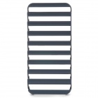 S-What Ladder Style Protective Plastic Case for IPHONE 5 / 5S - Black