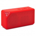 iBlue X3 Portable Bluetooth v3.0 2.0-CH Speaker - Red