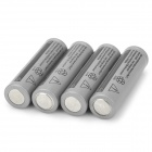 UITRAFIRE 14500 Lithium 3.7V Rechargeable 500mAh Battery - Grey + Black (4PCS)