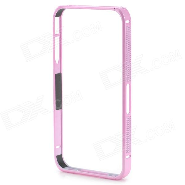 S-What Protective Aluminum Alloy Bumper Frame for IPHONE 4 / 4S - Pink s what ultrathin protective aluminum alloy bumper frame for iphone 4 4s black