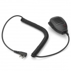 Walkie Talkie Handheld Microphone - Black (174cm)