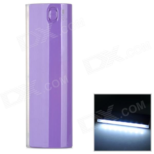 LSON 12000 Portable 12000mAh Power Bank w/ LED for IPHONE / IPAD - Purple оригинальный samsung galaxy s8 s8 plus nillkin супер матовая защита щита случай телефона