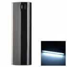 "LSON D5 Portable ""12000mAh"" Power Bank w/ 8-LED for IPHONE - Black"