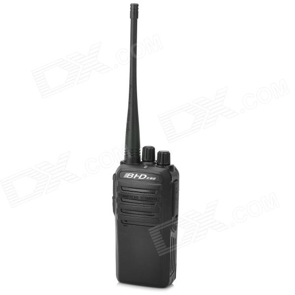 BHD B-800 400~470MHz 16-Channel Walkie Talkie - Black