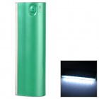 "LSON D5 Portable ""12000mAh"" Power Bank w/ 8-LED for IPHONE - Green"
