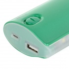 "Lson D5 Portable ""12000mAh"" Power Bank w / 8 LED pour iPhone - Vert"