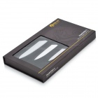 "NEW SUN XS410-B9 XS510-B9 XS610-B9 4"" + 5 + 6"" Zirconia Ceramic Knife Set - Black + White"