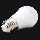 SL-3W E27 3W 60lm 6000K 6-5730 LED White Light Bulb - White (AC 220V)