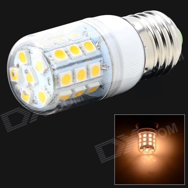 Fengyangdengshi 018 E27 6W 180lm 3000K 30-5050 SMD LED Warm White Lamp - White + Yellow (AC 220V)