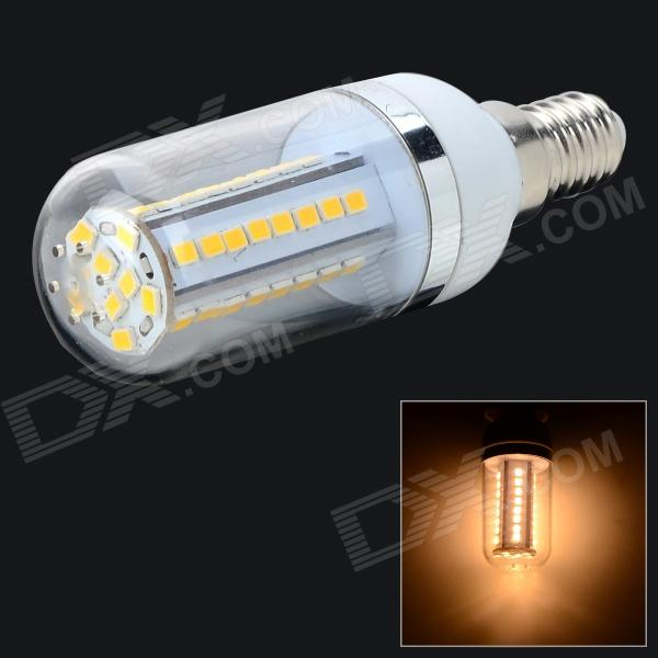 0133302 E14 9W 768lm 3000K 48-2835 LED SMD lampe blanche chaude - Blanc (CA 85 ~ 265V)