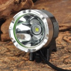 Lson Cree XM-T6 L2 600lm 3-mode Blanc Bike Light - Gris + Argent