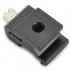 "1/4"" Flash Cold / Hot Shoe Adapter Mount - Black"