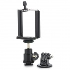 1/4 Adapter + Mount + Large Cellphone Clip for GOPRO