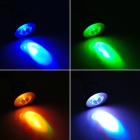 CJ CJ-RGB-001 E27 3W 20lm RGB Light Decoration Spotlight - белый + серебристый (100 ~ 240 В)