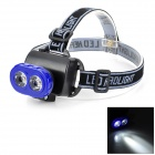 LSON LL-538 5W 2-LED 30lm 1-Mode White Headlamp - Blue + Black (3 x AA)