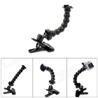 PANNOVO Jaws Flex Magic Joint Clamp Mount for Gopro Hero 4/ 3+ / 3 / 2 / 1 - Black