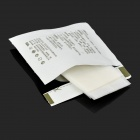 Powerclean ny-sc01 Limpieza de la pantalla Papel libre de polvo - Graylish White (20 PCS)