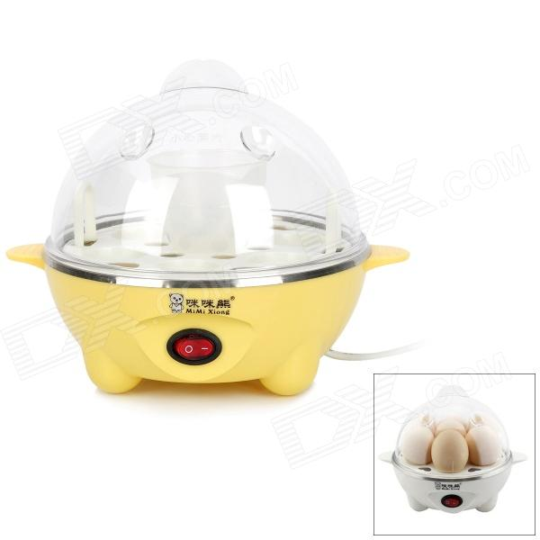 MIMIXIONG YS602 Mini commode 220V 350W US Bouilloire Egg - Jaune