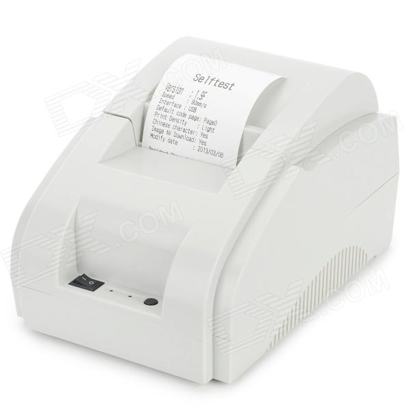 Xprinter POS-58IIH USB 58mm Thermo-sensitive Receipt Printer Bill Printing Machine - White 2017 new lpq80 thermal printer unique personality pos printer high quality 58mm thermal receipt printer printing speed fast