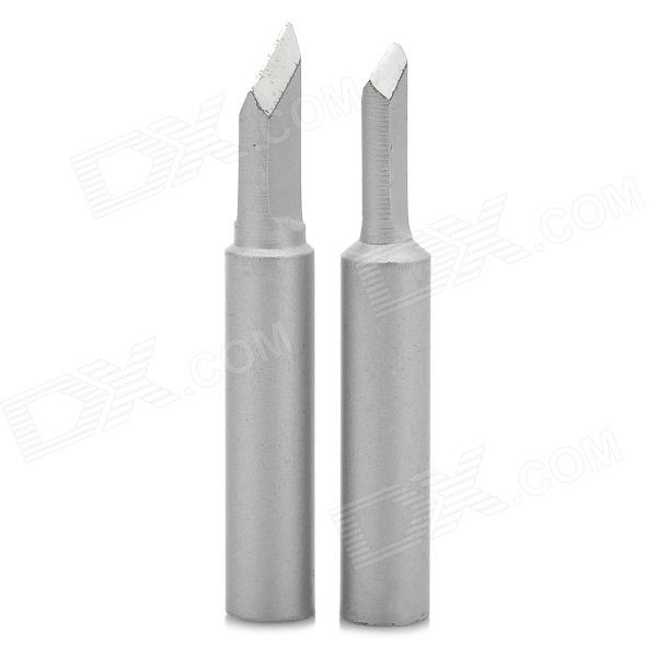 LSON K-Mouth Oxygen-free Copper Soldering Iron Tips - Silver White (2 PCS)