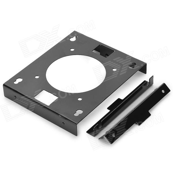 UMBRELLA 3.5 Hard Disk Shock Absorption Bracket w/ 8cm Fan Space - Black + Yellow 64 bit ic chip programmer 64 hard disk test for iphone hard disk repair instrument for iphone5s 6 6plus for ipad change sn