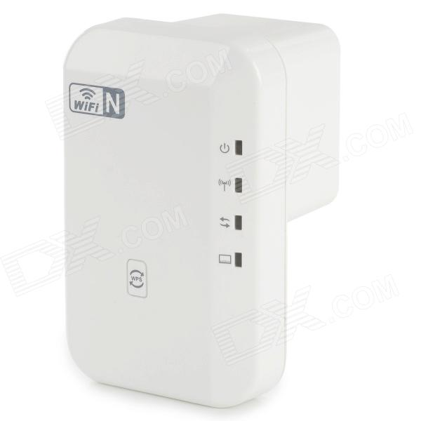 EP-W211 Wireless-N Wi-Fi IEEE 802.11n/b/g 300Mbps Repeater w/ WPS - White (US Plug / AC 100~240V)