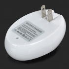 BTY 6F22 9V Battery Charger - White (US Plugs / 100~240V)