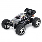 WLtoys L929 2.4GHz 5-CH 1:32 R/C Racing Car w/ Remote Control - Silvery Black (4 x AA)