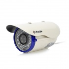 "YanSe YS-803CE 1/3"" CMOS 1200TVL Outdoor Waterproof CCTV Camera w/ IR-Cut / 36-LED Night Vision"